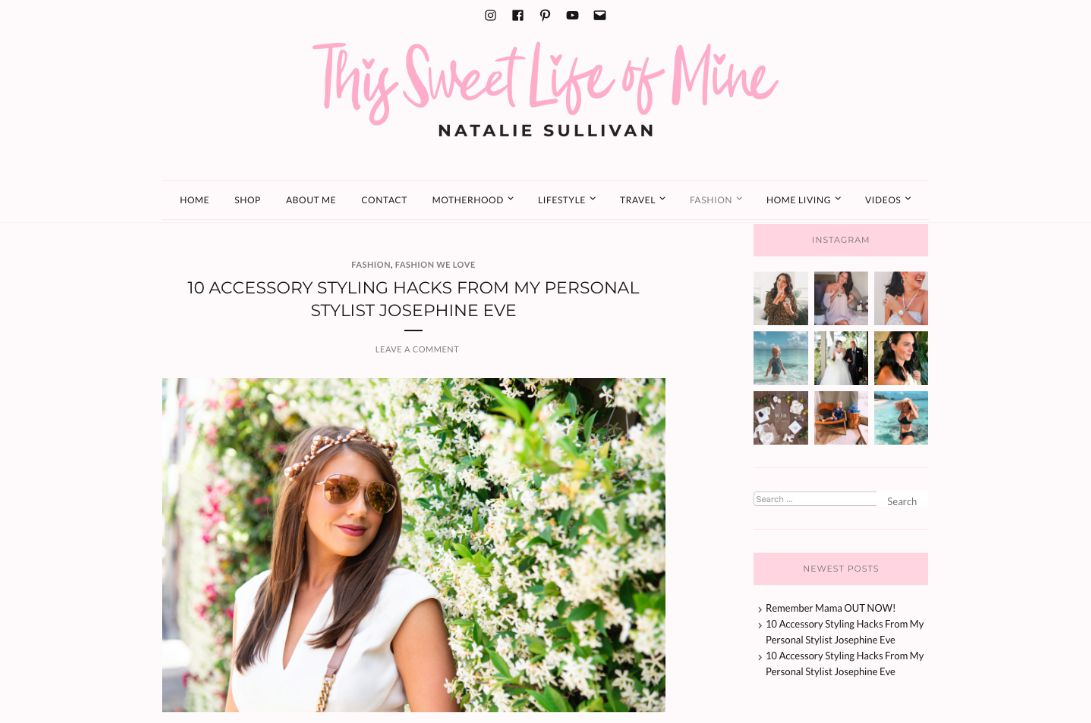 This Sweet Life Of Mine Blog
